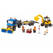 LEGO Maturatoare mecanica si excavator (60152)