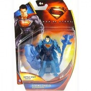 Superman Man of Steel Strike Shield Superman 3.75 inch Action Figure by Mattel
