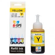 Gps Compatible Ink For Epson L100 / L110 / L200 / L210 / L300 / L350 / L355 / L550 [Yellow colors ] COMPATIBLE 75gms.1bottles.