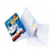 Thomas a gőzmozdony Party Meghívó 6 db-os