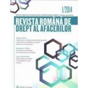 Revista Romana de Drept al afacerilor 12014