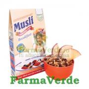 Musli Crocant 40% Fructe Deshidratate Cereale 500 gr SANO VITA