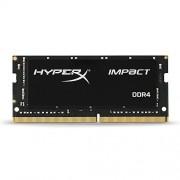 Kingston Technology HyperX Impact 16GB 2400MHz DDR4 CL14 260-Pin SODIMM Laptop Memory HX424S14IB 16