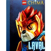 Lego Legends of Chima Composition Notebook Front Cover Features Awesome Graphics of Chima Hero Laval - 2pk