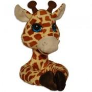 Curtain Critters Plush Jungle Safari Giraffe Curtain Tieback, Car Seat, Stroller, Crib Toy by Curtain Critters