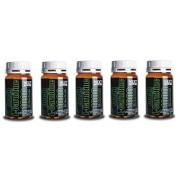 5 Paquetes de pura Acetil Carnitina (1 g de ingrediente activo por comprimido) Adelgazamiento Adelgazamiento Bajar de peso (para un total de 300 tabletas - 390 gramos)