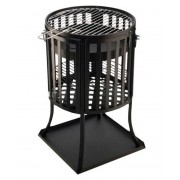 BBQ Collection Luxe vuurkorf met barbecue / BBQ rooster 71x 6,5 cm.