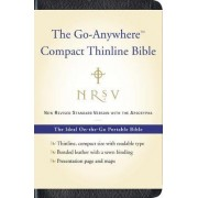 NRSV Go-Anywhere Compact Thinline Bible With the Apocrypha by Harper Bibles