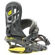 Legaturi snowboard Rome 390 Boss gunmetal 2017