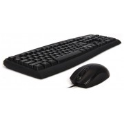 Zalman ZM-K380 Combo tastatură engleză negru + mouse optic USB