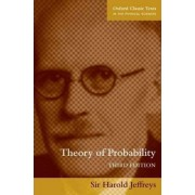 The Theory of Probability by Sir Harold Jeffreys