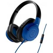Casti cu Microfon Audio-Technica ATH-AX1iSBL (Albastru)