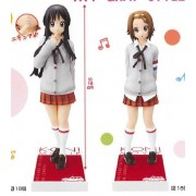 "Full set of 2 movie: [will be in stock on April 10 Book] ""K-ON!"" DXF figure ~ HTT-GRAY-STYLE ~ Mio and Ritsu (japan import)"
