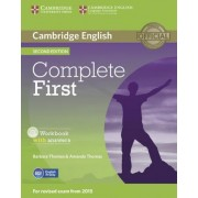 Complete First - Second Edition. Workbook with answers with Audio CD by Amanda Thomas