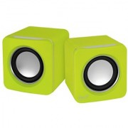 ARCTIC S111 USB-Powered Portable Stereo Speakers for Tablet/eReader/MP3/Computers Balanced Treble/Superior Bass - Lime