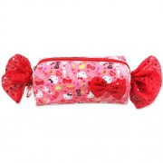 Red tubular pouch (japan import)