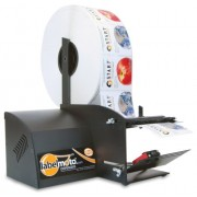 START International LD6050-2EU Dispensador de Etiquetas Eléctrico de Alta Velocidad, Ancho Máximo de 121 mm, Longitud máxima de 152 mm, Negro