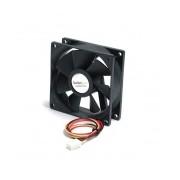 Ventilador StarTech.com con Rodamiento de Bolas Doble FAN8X25TX3L, 80mm, 2000RPM, Negro