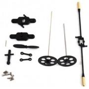 AMEWI 054-6010099 Crash Kit Firestorm Gold - Juego de piezas de repuesto para helicóptero Firestorm Gold