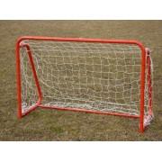 Miniporti fotbal 150x100 cm, aluminiu, cu plase