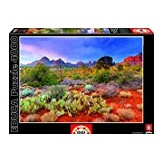 Educa 16324 - Jigsaw Puzzle - Twilight In The Red Rock, Arizona, USA (4000 pieces)