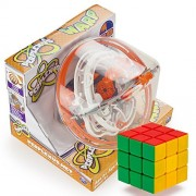 The Warped Brain-Bending Bundle: Perplexus Warp and a Brybelly Puzzle Cube