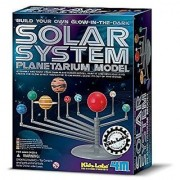 Glow In The Dark 4M Solar System Planetarium Model figure Science Fair Project Learning & Education Science by 4M