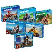 Playmobil 5113 Chopper Motorcycle With Rider