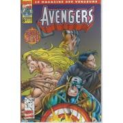 """[ Le Magazine Des Vengeurs ] """" Panique À Manhattan """"( Captain America + Thor + Iron Man + The Avengers + Force Works ) : Avengers N° 8 ( Septembre 1997 )"""