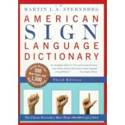 American Sign Language Dictionary by Martin L.A. Sternberg