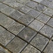 Capri Mosaïque Quartzite grise Platinium