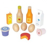 Hape - Playfully Delicious - Healthy Basics Wooden Play Food Set