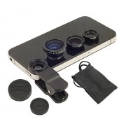 Lenovo ZUK Z1 Compatible Ceritfied Professional Universal 3 in 1 Cell Phone Camera Lens Kit ( Assorted Colour )