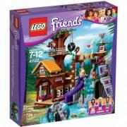 LEGO Friends Tabara de aventuri: Casuta din copac 41122