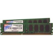 Memorie Patriot 4GB Kit 2x2GB DDR3 1333MHz CL9