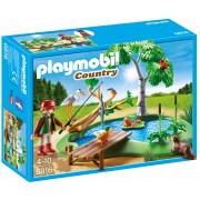 PLAYMOBIL - LAC PENTRU PESCUIT - FORESTER'S HOUSE (PM6816)