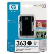 CARTUS BLACK SMALL VIVERA NR.363 C8721EE 6ML ORIGINAL HP PHOTOSMART 8200