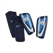 Protección de fútbol para pierna Manchester City FC Mercurial Lite