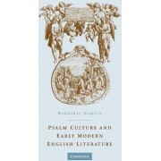 Psalm Culture and Early Modern English Literature by Hannibal Hamlin