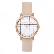 Christian Paul - Bondi Grid 35 MM - Rose Gold / Peach
