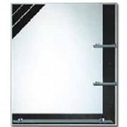 Zrcadlo ZT-C0446 80x60cm s poličkami