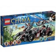 Chima - Le char de combat loup - 70009