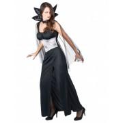 Disfarce vampiro mulher Halloween Tamanho único