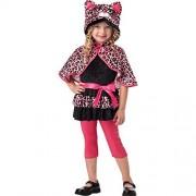 California Costumes Cutesy Kitty Toddler Costume, 3-4