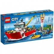 LEGO® City Şalupă de stins incendii 60109