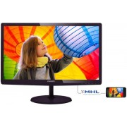 "Monitor TFT-LCD Philips 21.5"" 227E6LDAD/00, Full HD (1920 x 1080), VGA, DVI, HDMI, 2 ms, Boxe (Negru)"