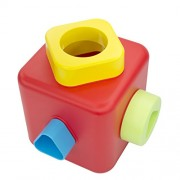 Bioserie Toys Shape Sorting and Stacking Cube