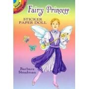 Fairy Princess Sticker Paper Doll by Barbara Steadman