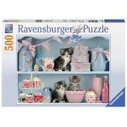 Ravensburger puzzle pisicute si prajiturele, 500 piese