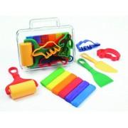 Fantasie klei transp. koffer + accessoires